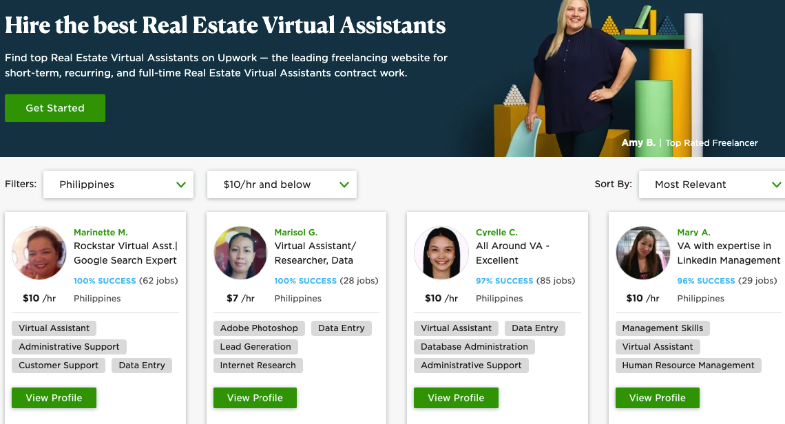 Real Estate Virtual Assistant | Freelance Rate