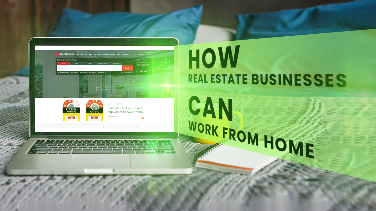 Work From Home Real Estate Business