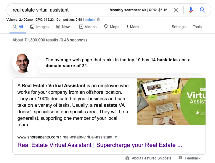 real estate virtual assistant google search