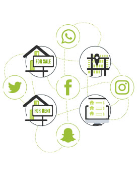 Real Estate For Social Media