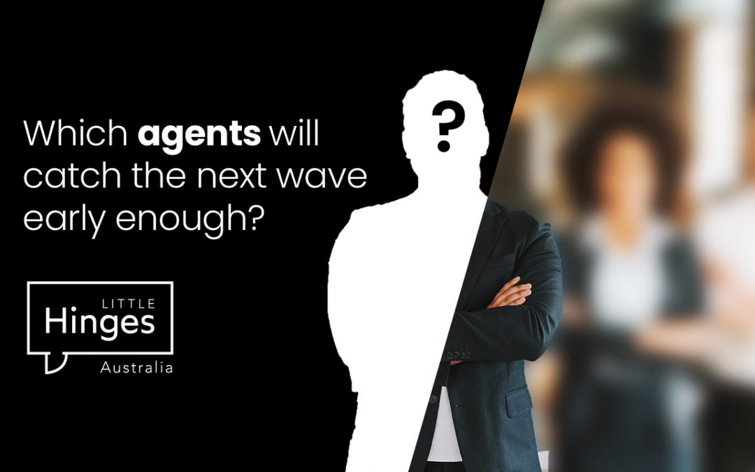 Which Agents Will Catch the Next Wave Early Enough?