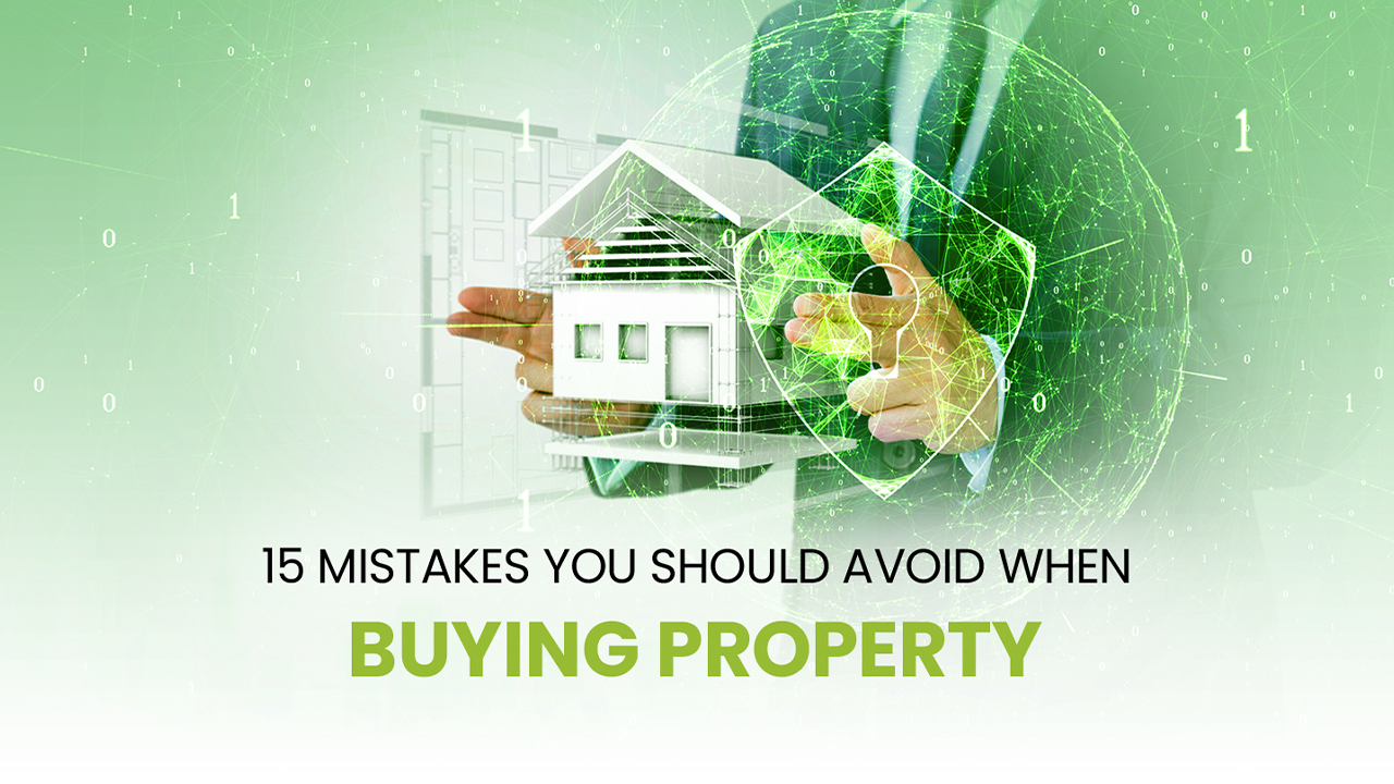 mistakes when buying property