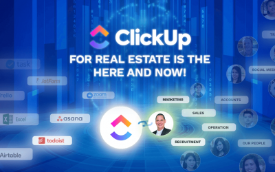 ClickUp for Real Estate is the Here and Now!