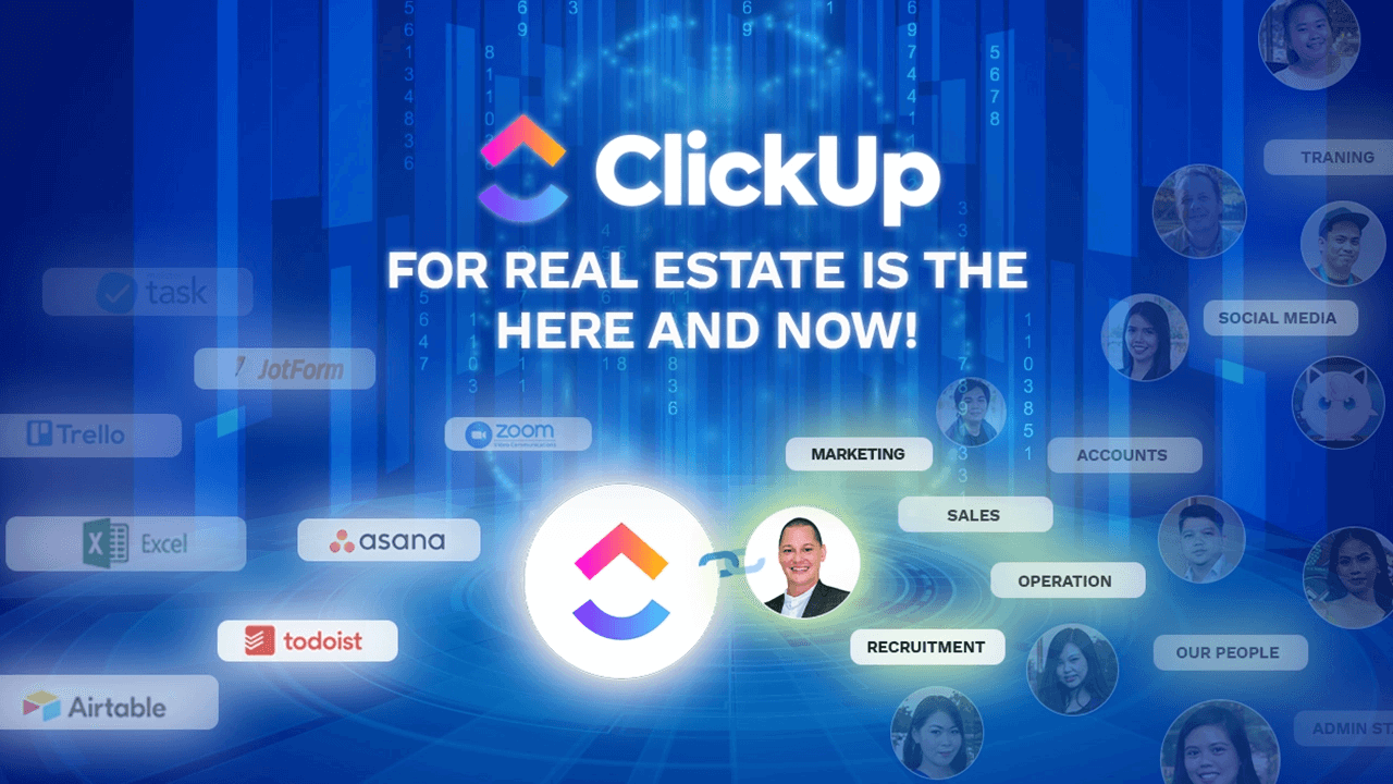 ClickUp for Real Estate Featured Image