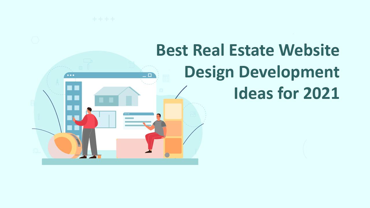 real estate website design development
