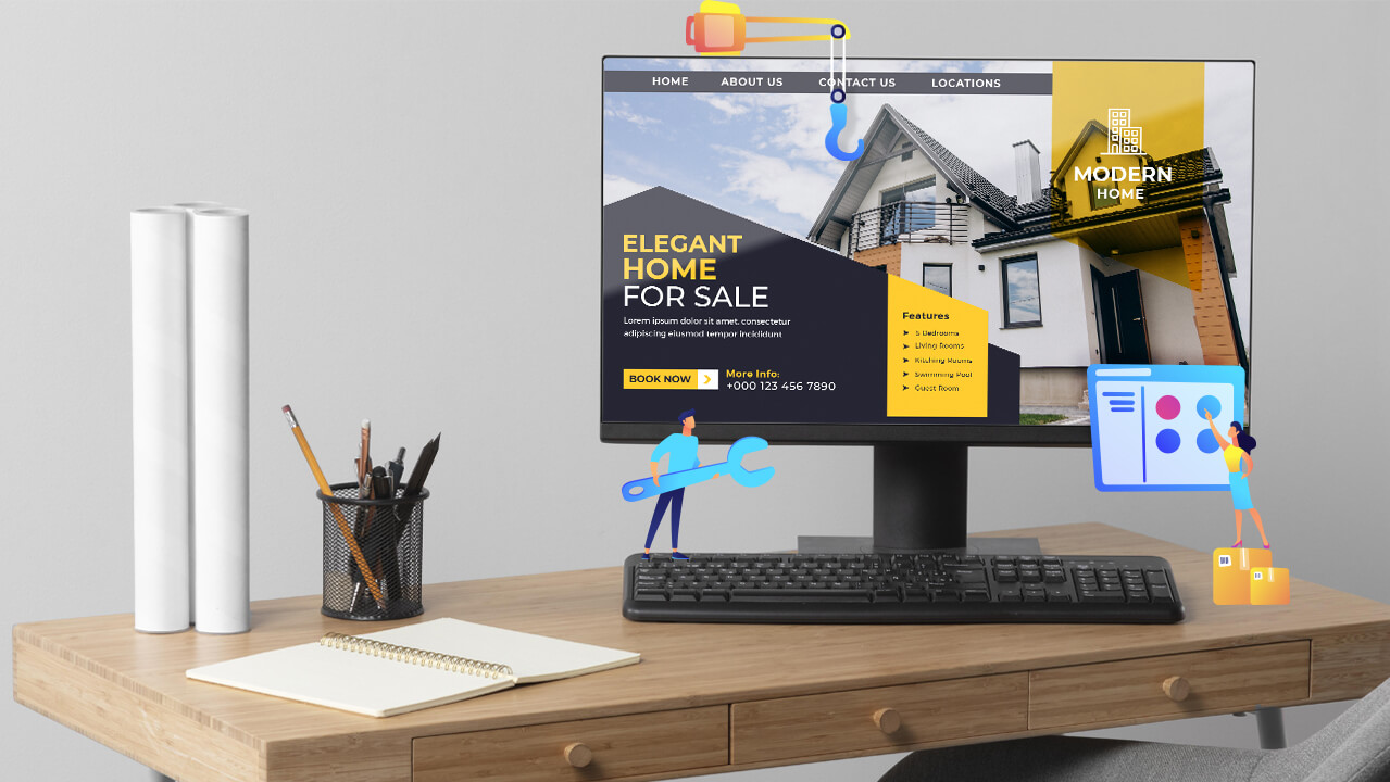 5 Best Website Builders for Real Estate Agency